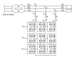 main wiring diagram of d statcom in power distribution grid