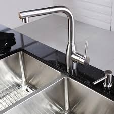 pull kitchen faucets stainless steel impressive kraus kitchen faucets on pull faucet with soap