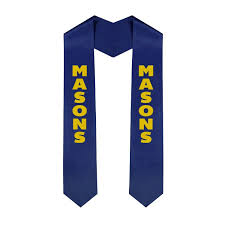 sashes for graduation masonic graduation sash stole sale 29 95 gear