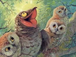 Potoo Bird Meme - a bird in this world by camelid on deviantart