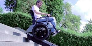 Go Down Stairs by This Stair Climbing Wheelchair Could Make The World A Bit More
