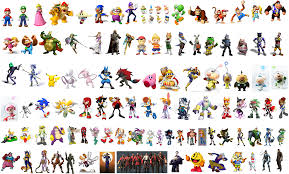 image gallery mario characters list