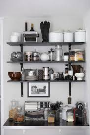 Shelves Design For Kitchen by Vintage And Simple Open Kitchen Shelving
