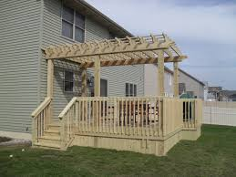 Pergola Post Design by Northwest Indiana Arbors Pergolas And Gazebo Builder First