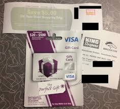 buy used gift cards 500 visa gift cards for 95 cents at ralphs possibly other kroger