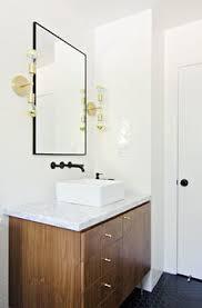 Ikea Hack Bathroom Vanity by Large Round Mirror Above The Bathroom Vanity Large Round Mirror
