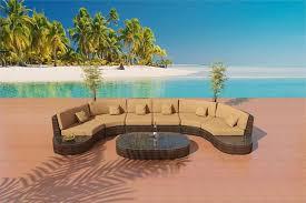 Teak Sectional Patio Furniture by Bellagio Bronze Sofa Outdoor Patio Furniture Set 32