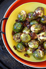 roasted brussels sprouts in balsamic glaze