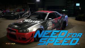 nissan gtr custom need for speed 2015 nissan gt r r34 custom build all customization