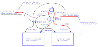voltage sensitive relay for dual battery wiring diagram boat to