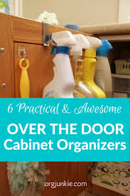 6 practical u0026 awesome over the cabinet door organizers