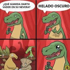Meme T Rex - terribles chistes del dinosaurio rex que te van a sacar una sonrisa