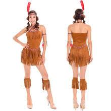 Indian Halloween Costume Women Popular Native Indian Costumes Women Buy Cheap Native Indian