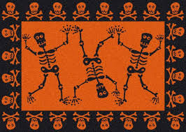 halloween bath rugs jack olantern faces halloween rug funkn cute