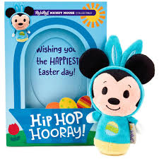 easter mickey mouse itty bittys mickey mouse easter card with stuffed animal