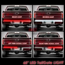 Red Led Light Bars by For 1997 2003 Ford F150 Led 60 U0026 034 Tailgate Light Bar 1pc