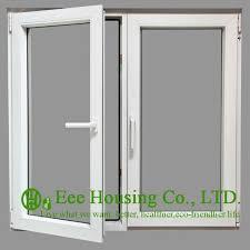 Aluminum Awning Windows Safety Glass Aluminum Casement Windows Powder Coating Finished