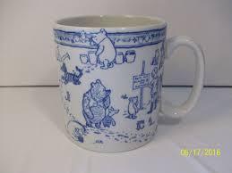 spode classic winnie the pooh discovery disney showcase mug 2003