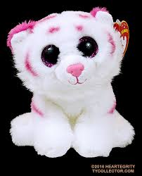 tabor ty beanie babies white tiger