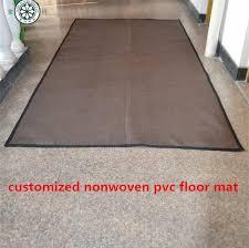 large woven pvc plastic floor mat vinyl plastic floor mat easy
