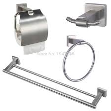Bathroom Sets Cheap by Online Buy Wholesale Stainless Steel Bathroom Accessories Set From