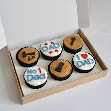 diy dad cup cakes x6 by the cake nest notonthehighstreet com
