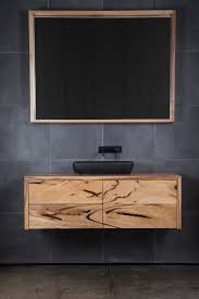 Timber Bathroom Vanity Northcliffe Bathroom Vanity Marri Ingrain Designs