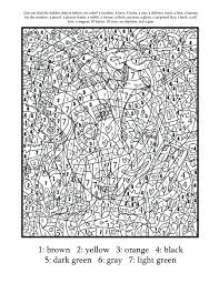 color by number addition worksheets christmas coloring sheets for