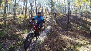 riding in the bud carter trails south yarmouth massachusetts