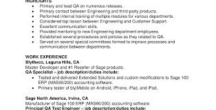 Qa Analyst Resume Sample 100 Quality Analyst Resume Resumes Resume Cv Example Template