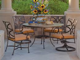 wrought iron outdoor dining table wrought iron outdoor dining table vuelosfera com