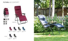 Lafuma Air Comfort Recliner Deck Home And Patio Inc Deck Home Patio Chairs U0026 Tables
