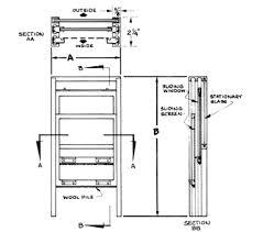 window in plan sliding service windows nissen company