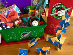 operation christmas child craft no sew fabric building set