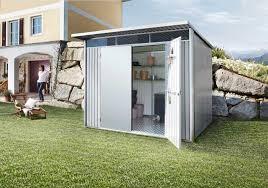 casette ricovero attrezzi da giardino novit罌 giardino casette e contenitori porta tutto in metallo
