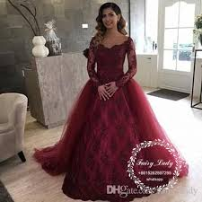 wedding dress maroon 2018 detachable burgundy wedding dresses sheer lace