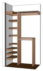 Diy Build Shelves In Closet by Small Closet Organization Diy Small Closet Organizer Plans