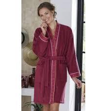 robe de chambre grande taille pas cher peignoir de bain françoise saget
