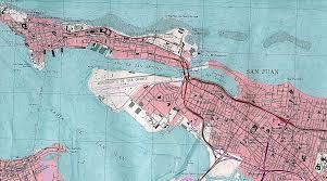 san juan map san juan topographic map