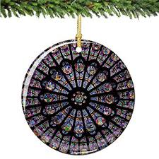 window ornament porcelain 2 75