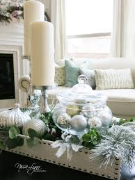 Home Table Decor by Nissa Lynn Interiors Holiday Coffee Table Decor