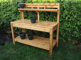 garden potting bench gardening ideas