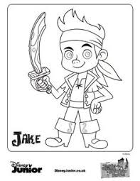 jake land pirates pirate ship coloring pages bucky