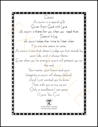 wedding quotes cousin cousin poems