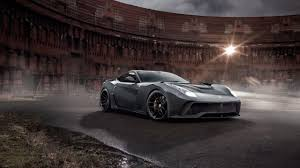 Ferrari F12 Blue - ferrari f12 berlinetta gets wide body kit by novitec rosso