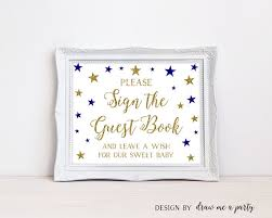 guest sign in books baby shower guest sign in twinkle twinkle guest book
