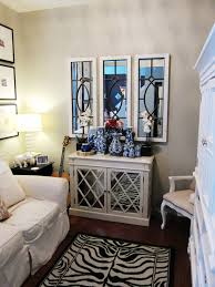 decorating with mirrors and mirrored furniture modern design