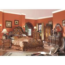 cherry oak bedroom set acme dresden bedroom set in cherry oak for from 2 920 00 to