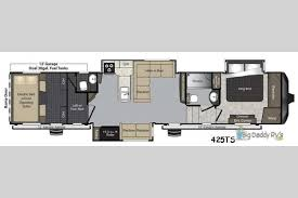 Plan Toys Parking Garage Canada by New 2018 Keystone Rv Raptor 425ts Toy Hauler Fifth Wheel At Big