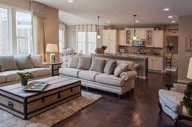 Open Floor Plan Living Room Furniture Arrangement Open Kitchen And Living Kitchens Room And Color Pallets